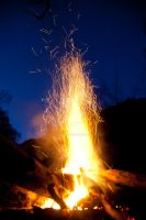 Canoe Creek Campfire by Colin-LOCP
