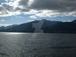 Yakushima from the ferry by Wilya12