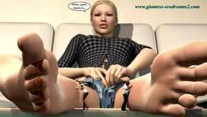 Giantess Erodreams2 - Promo - Cathy by ilayhu2