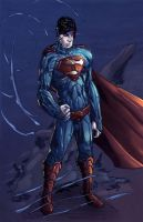 superman new52 by CRISTIAN-SANTOS