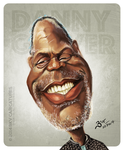 Danny Glover Caricature by libran005