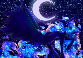 Wings of Night by xKittyblue