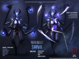 Shiva Warframe by DreadJim