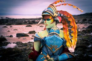 Naga Siren, The Slithereen Knight Cosplay by PipaWolf