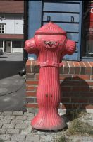 Fire hydrant by enframed