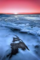 Splintering Ice III by Solkku