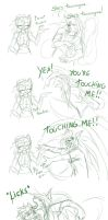 Touching me by Keitronic