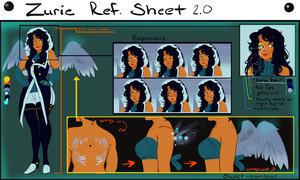 Azure Ref sheet 2.0 by Xuiology