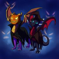 The Halloween Pic I Forgot About by JazzTheTiger