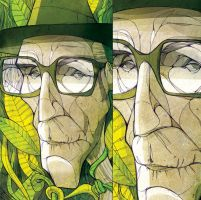 William Burroughs by PincheMoreno