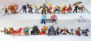 Dissidia Warriors by VictorCustomizer