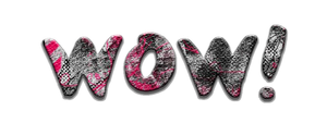 Texto WOW png by fepaa