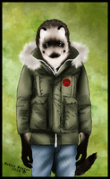 Vicious in a Coat by WeaselWomanCreations