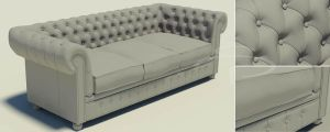 chesterfield sofa by rocneasta