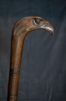 Eagle head cane by Marcoz12