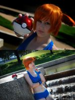 Cerulean City Gym Leader by lilylighting