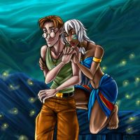 Couples: Milo and Kida by MistyTang