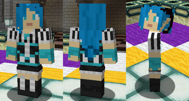 Gift: Amoriel Minecraft Skin by Nero-The-Lime