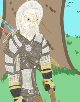 Geralt of Rivia by TJ123123