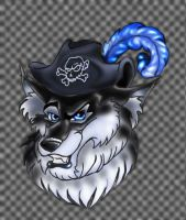 Werewolf Pirate by Eviecats