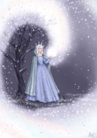 The Snow Princess by staticgirl
