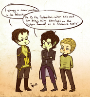 Sherlock Trek by surrenderdammit