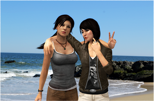 Lara and Sam - Forever Friends by jagged66