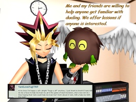 Question 1172 ~Dueling Lessons Offered~ by AskMMDYugi