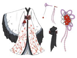 Crane dress design by Eranthe