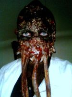 Dr. ZOIDBERG horror mask/make-up: Ari Savonen. by NSFF