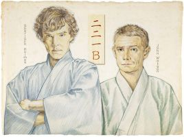 SHERLOCK in Japan by 403shiomi