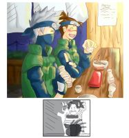 Kakashi's evil plan by Zeras-art