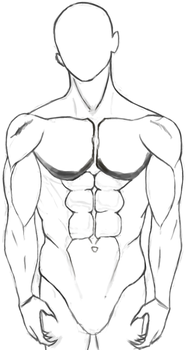 Training.M.body WIP by Guild-Arts