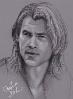 Chris Hemsworth by DafnaWinchester