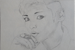 T.O.P. portrait from Fantastic Baby - Big Bang by Djigr