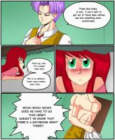 Trunks x Yumi fanfic PG 17 by TayTayCupcakeCutiee