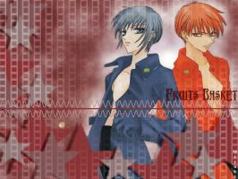Fruits Basket Wallpaper by Artgirl456