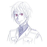 Free sketch - Prussia by Miupoke