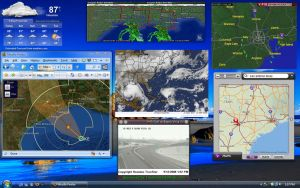 Hurricane Ike Tracking by TechII