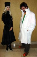 Maetel and Dr. Cossack by biggestsonicfan