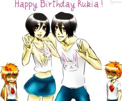 Happy Birthday Rukia! by Pamianime