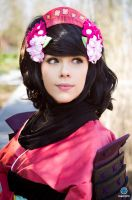 Cosplay Momohime from Oboro Muramasa by MahoCosplay