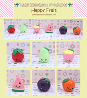 .: Happy Fruit :. by moofestgirl