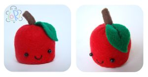 Apple Pincushion by LoRi-La-Tortuga