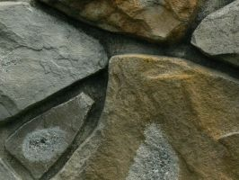 Stone Wall Cloes-up by FairieChick