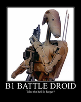 B1 Battle Droid by NewMystery356