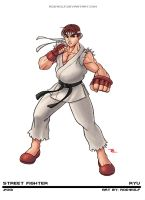 Street Fighter - Ryu - Updated by RodWolf