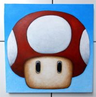 Super Mario Power Mushroom - 2 by TheLandoBros