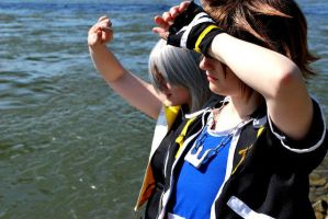 Riku Sora: By the Sea by Maohheika