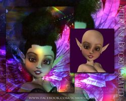 AF and BF Created Enchanted Wings by ICMDesigned